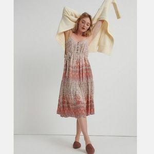 Lucky Brand Nikki Midi Dress XS NWOT